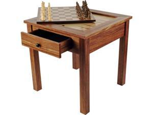 Trademark Poker Wood 3 in 1 Chess Backgammon Table by Trademark GamesT