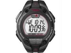 Timex Ironman 30 Lap Watch - Oversize - Black/Red