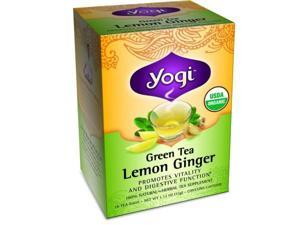Yogi 28174 Organic Green Lemon Ginger Tea