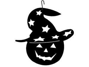 Village Wrought Iron HOS-233 Pumpkin-Halloween Silhouette Decoration