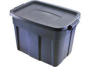 Rubbermaid 14 Gallon Roughneck Storage Box  FG2212CPDIM - Pack of 12