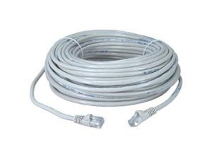 CMPLE 597-N RJ45 CAT5 CAT5E ETHERNET LAN NETWORK CABLE -w 100 FT WHITE