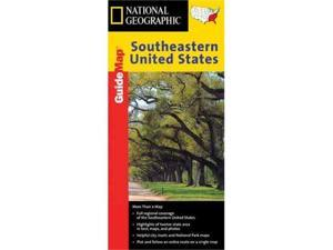 National Geographic GM00620511 Map Of Southeastern USA