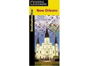 National Geographic DC00622044 Map of New Orleans- Louisiana