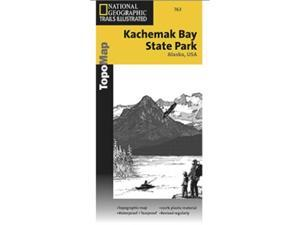 National Geographic TI00000763 Map Of Kachemak Bay State Park - Alaska