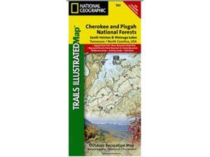 National Geographic TI00000783 Map Of South Holston And Watauga Lakes - North Carolina-Tennessee