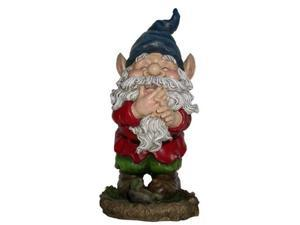 Alpine WAC254 Smiling Gnome Statuary