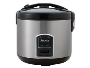 Aroma Housewares ARC-900SB 10-Cup Stainless Steel Cool Touch rice cooker