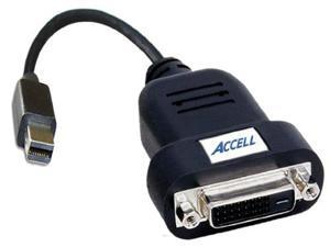 "Accell 10"" UltraAV  Mini DisplayPort to DVI-D Single-Link Active Adapter"