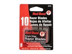 Red Devil 630-3270 Razor Blades Single Edge