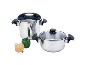 Precise Heat 4Pc Pressure Cooker Set
