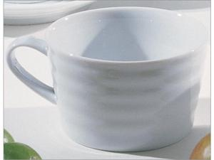 Ten Strawberry Street Swing White - 11 Oz Mug - Set Of 6