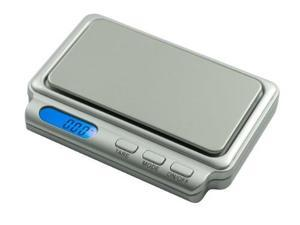 AWS CARD2-100-SIL Compact Digital Pocket Scale - Silver