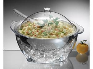 Prodyne Iced Salad with Acrylic Dome Lid Salad Servers - IC30