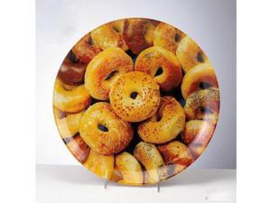 Rite Lite SBGL-2 12 in. Round Glass Bagel Plate - Pack Of 3