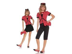 Costumes For All Occasions MO9511JML Medium-Large Miss Mouse