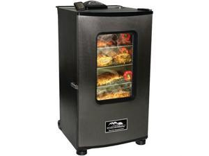 "Masterbuilt 30"" Stainless-Steel Digital Electric Smokehouse with Window and Remote"