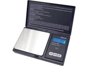 American Weigh Scales AWS-600-BLK Pocket Digital Personal Nutrition Scale - Black
