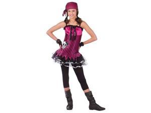 Costumes For All Occasions FW121243 Rockin Skull Pirate Teen 0-9