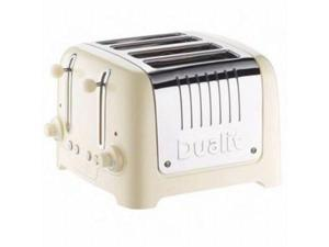 Dualit 46242 Lite Traditional Design Chunky Commercial Toaster - Cream
