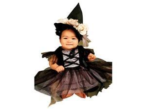 Costumes 196868 Lace Witch Infant-Toddler Costume Size: 0-9 Months