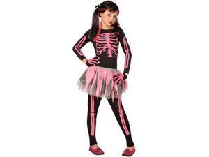 Costumes 211578 Punk Skeleton Child Costume Size: Large