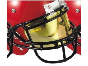 Bangerz HS-9000A Pro Vu Flexible Football Eyeshield - Amber