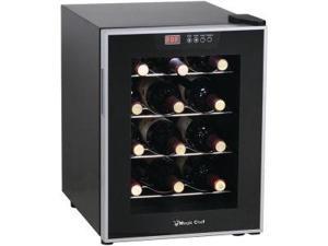 Magic Chef MCWC12SV 12-Bottle Wine Cooler