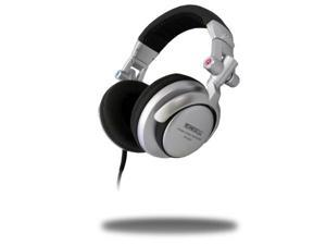 Technical Pro hps820 Professional DJ Headphones with 2 Adapters and Case, Silver