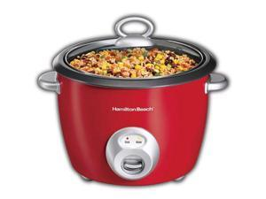 Hamilton Beach 37538H 20 Cup Rice Cooker Red