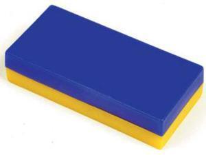 Dowling Magnets DO-MC15 Plastic Encased Block Magnets- 12 Pcs