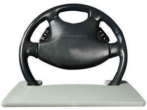 AutoExec Wheelmate Wheelmate Steering Wheel Desk Tray - Gray
