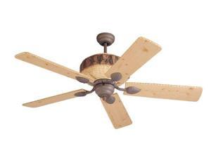 5GL52WI Great Lodge 52 in. Weathered Iron Ceiling Fan With Lodge Pine Blades