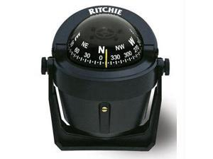 Ritchie Compass B-51 Explorer Compass Bracket Mount - Black