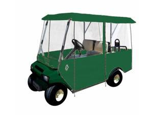Greenline GLEG04 Greenline Drivable Universal 4 Passenger Golf Car Enclosure- Forrest Green