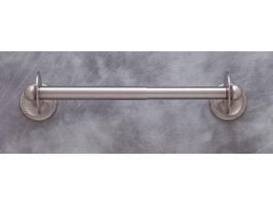 JVJHardware 23609 Kitchen Accessories 17 in. Roped Paper Towel Holder - Satin Nickel