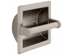 Liberty Hardware Bath Unlimit Recessed Toilet Paper Holder With Beveled Edges 90
