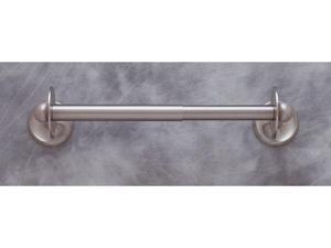 JVJHardware 24209 Kitchen Accessories 17 in. Plain Paper Towel Holder - Satin Nickel