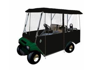 Greenline GLEB04 Greenline Drivable Universal 4 Passenger Golf Car Enclosure- Black