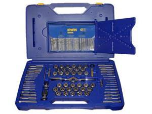 Irwin Industrial Tool HA1813817 116 Piece Ratchet Drive Tap and Die Set