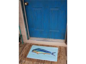 "Betsy Drake DM010 Dolphin Fish Door Mat 18""x26"""