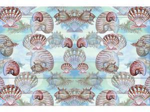 """Betsy Drake DM094 18"""" x 26"""" Shells Doormat"""