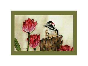 "Betsy Drake DM243 Woodpecker Door Mat 18""x26"""