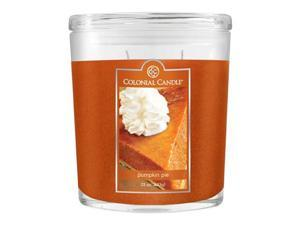 Fragranced in-line Container CC022.1659 22oz. Oval Pumpkin Pie Candles - Pack of 2