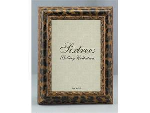 Sixtrees WF11057 5 in. x 7 in. Leopard Matted