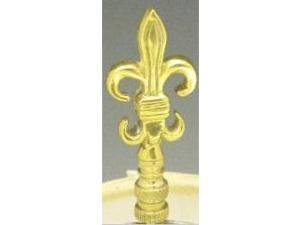 Mayer Mill Brass - FDLFN-1 - Fleur De Lis Lamp Finial