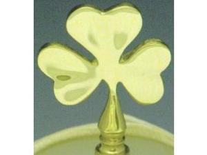 Mayer Mill Brass - IFN-1 - Shamrock Lamp Finial