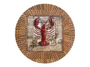Thirstystone TSTF5 Thirstystone Set of 4 Sandstone Coasters - Lobster
