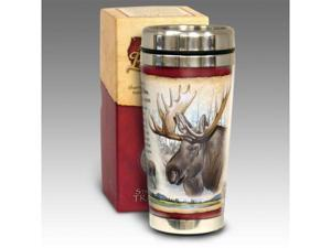 American Expediton STMG-105 Bull Moose 16-oz. Steel Travel Mug