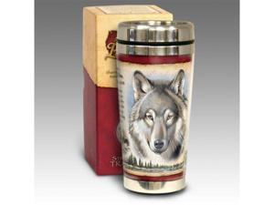 American Expediton STMG-106 Gray Wolf 16-oz. Steel Travel Mug